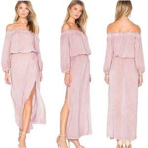 Young Fabulous & Broke Purple Canyon Maxi Dress XS